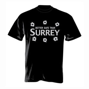 Better Safe Than Surrey