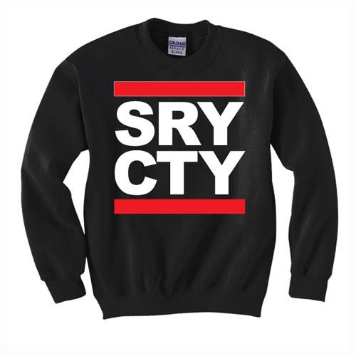 SRY CTY Black Sweater
