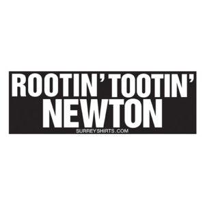 Rootin' Tootin' Newton